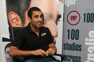 Ravi Bopara at Hair replacement and regrowth treatment