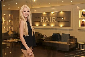 Kate Hallem at Hair restoration and hair transplant company