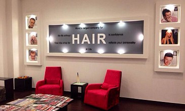 Clients of hair replacement treatment at advanced hair studio