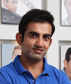Gautam Gambhir - After Hair Transplant