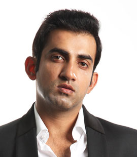 Gautam Gambhir after hair loss treatment