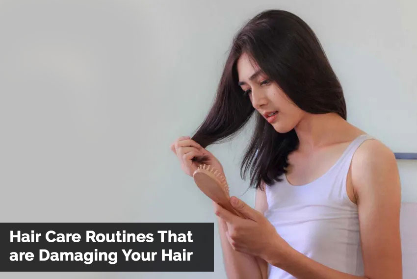Hair Care Routines That are Damaging Your Hair