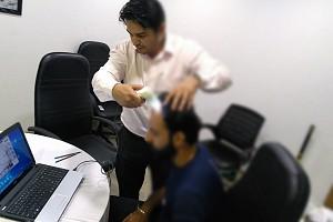 Bodycarpenter Hair check activity