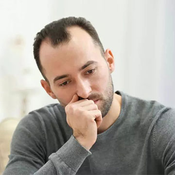 Psychological Effects of Hair Loss on Male