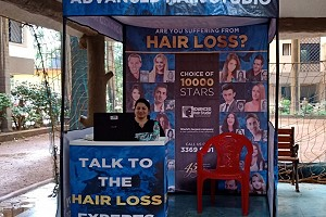 Mumbai - Hair Check at Manavsthal Heights