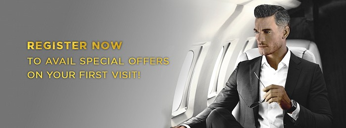 Register now to avail special offer on your first visit