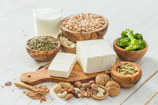Selection vegan protein sources
