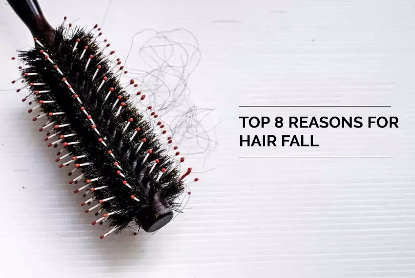 How can you counteract hair loss before it gets worse