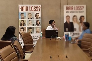 Hair Check at Lodha World Towers